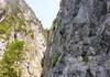 Abstieg über die letzte Wandstufe