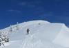 Schlussanstieg zum Gipfel