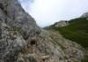 Ausstieg aus dem Klettersteig