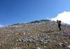 Auf dem Westgrat zum Gipfel