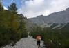 Schottrige Zustieg zur Steilstufe