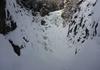 Eisfall von der Klamm aus gesehen