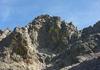 Die steile Nordwand des Cintu