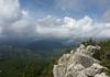 Blick vom Gipfelbereich Richtung Bavella