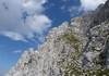 Schritte zum Gipfel vom NW-Grat oberer Teil