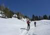 Start hinter der Dürrensteinhütte