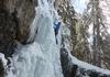 Klettern in der oberen Stufe