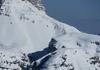 Rinneneinfahrt und Col di Mezzo
