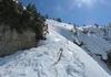 Übergang in den flacheren Bereich der Steilstufe