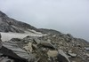 An den Ausläufern des Gletschers entlang
