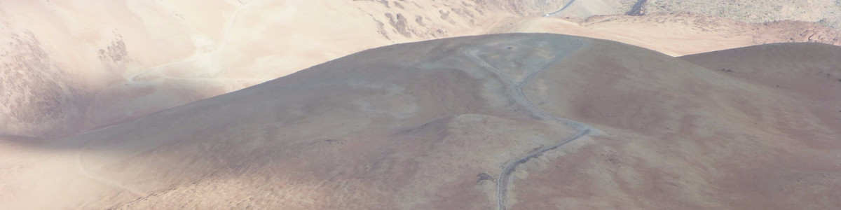 Montaña Blanca - Cañadas del Teide - Teneriffa