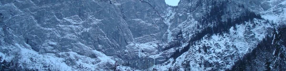 Wasserfallweg Winterbegehung - Hochzinödl - Gesäuse