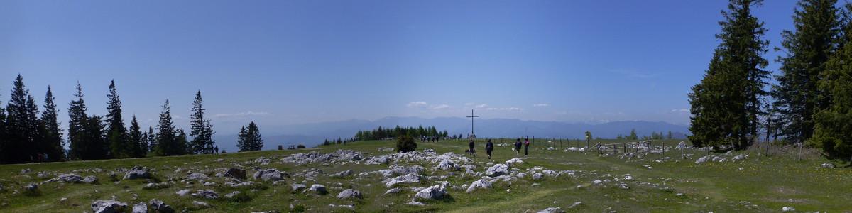 Schöckl vom Schöcklkreuz - Grazer Bergland