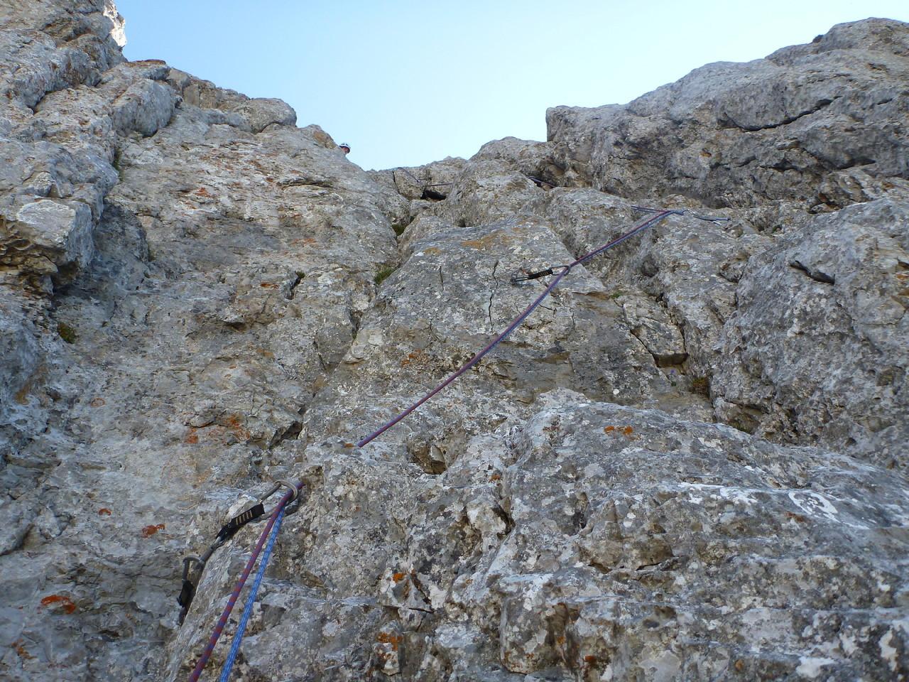Fotos - Direkte Westwand - Admonter Kalbling - Gesu00e4use - Ennstaler Alpen - Klettern - [GBL]