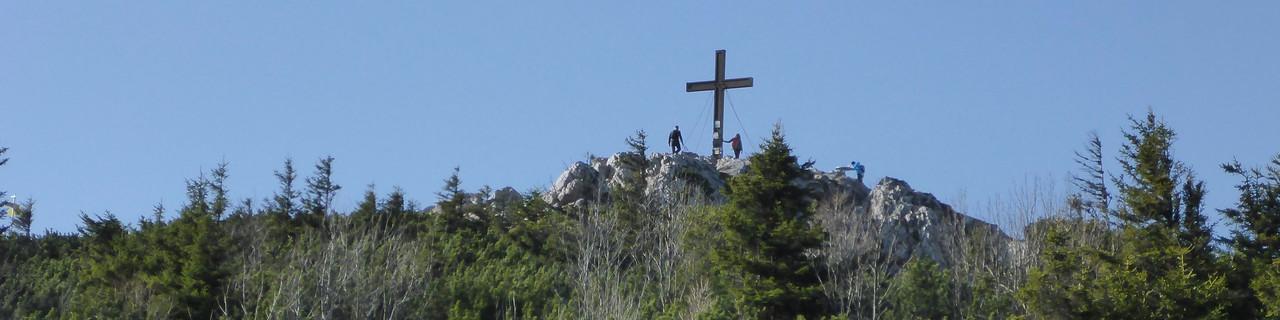 Hochlantsch von der Teichalm - Grazer Bergland