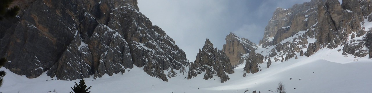 Tofana di Rozes Südkar - Ampezzaner Dolomiten