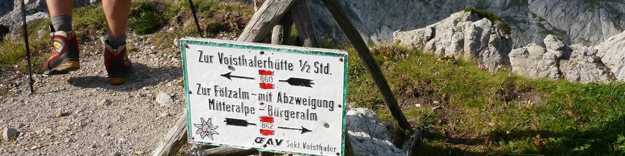 Von der Fölzalm zur Voisthalerhütte - Hochschwab