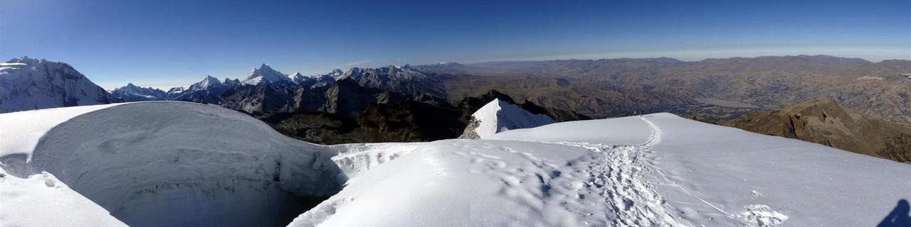 Überschreitung süd nord - Vallunaraju - Cordillera Blanca