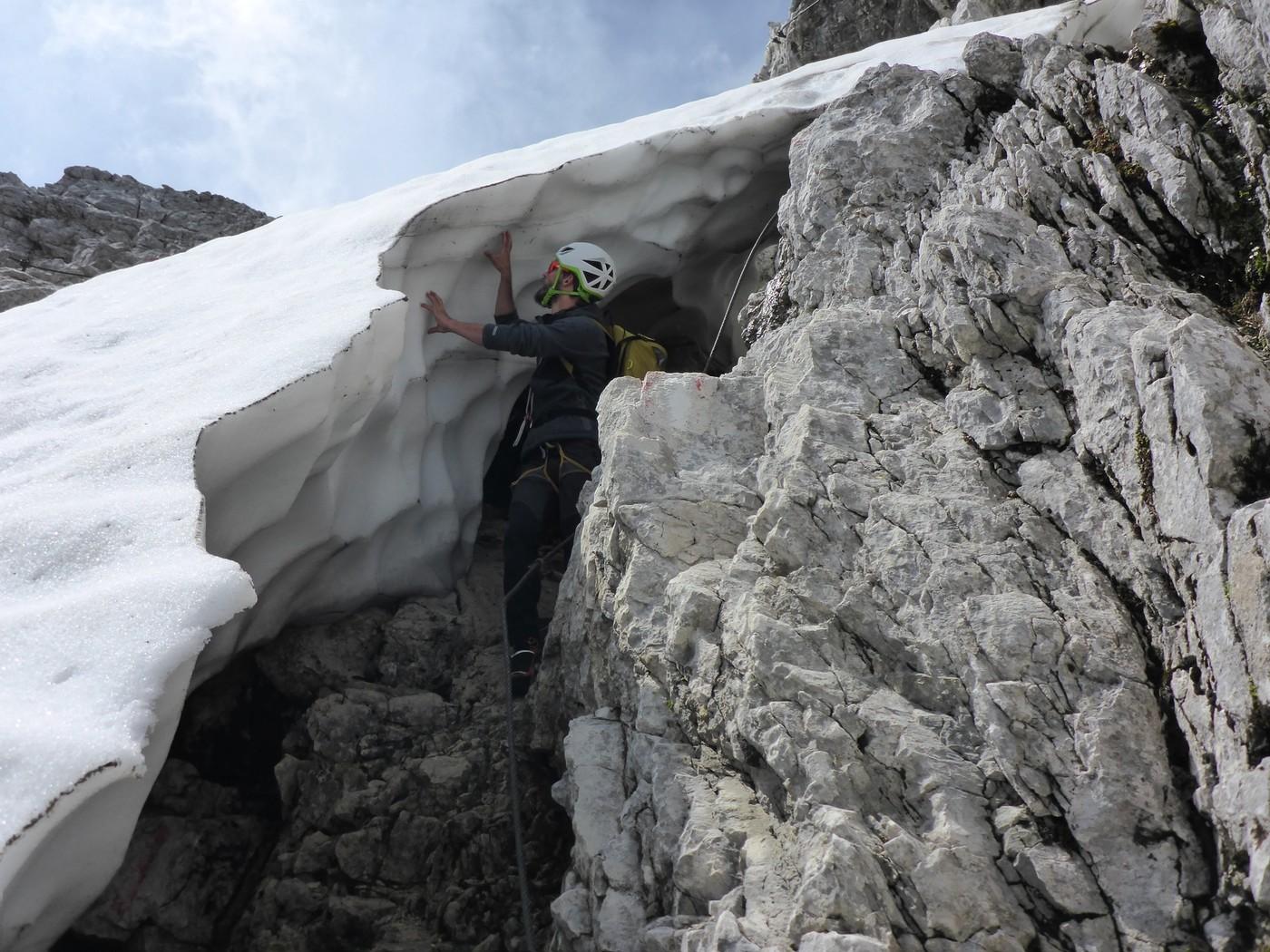 Klettersteig Priel : Gesamter südgrat großer priel totes gebirge klettern gbl