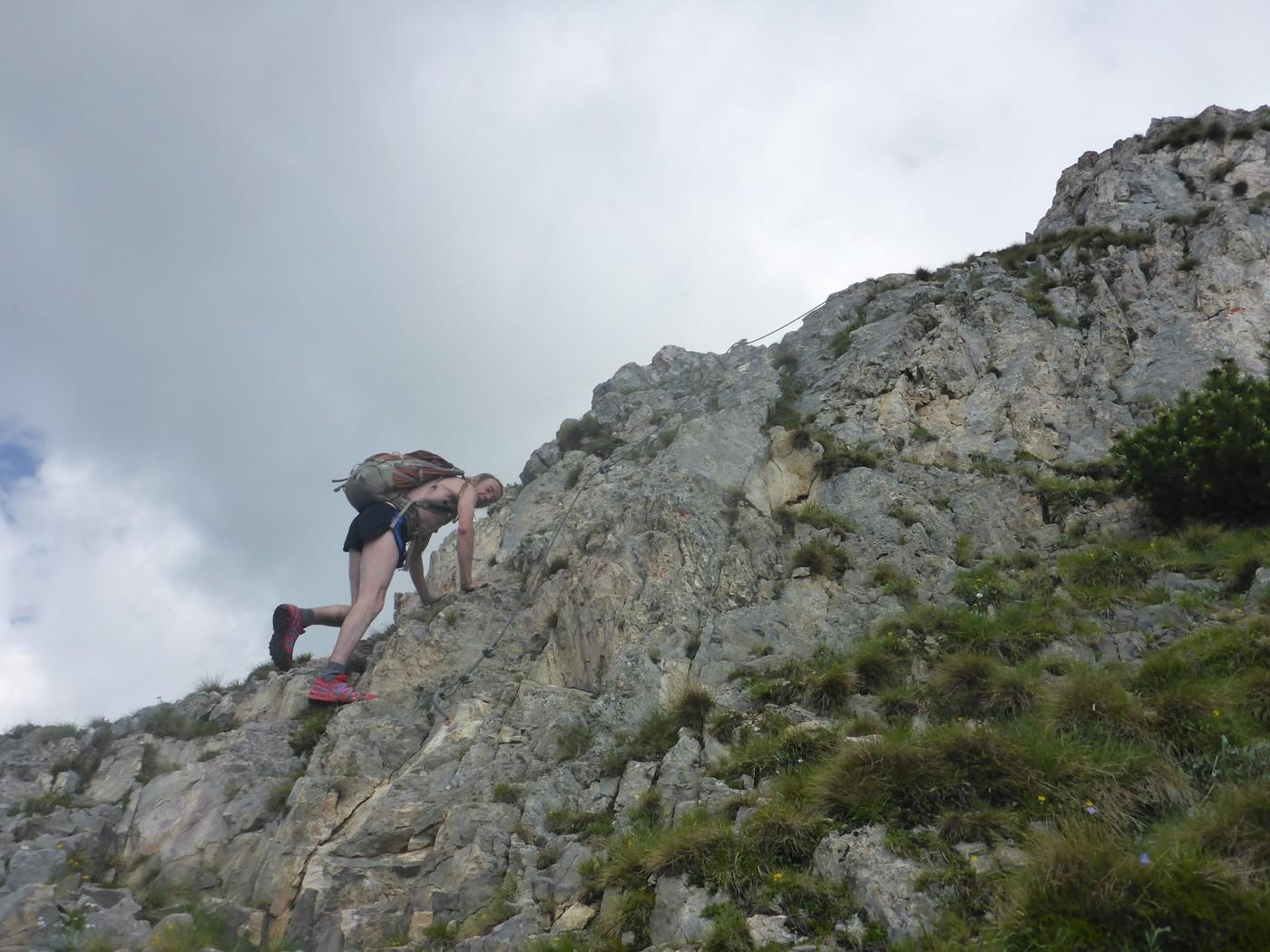 Klettersteig Rax : Grete klinger steig eisenerzer alpen klettersteig gbl