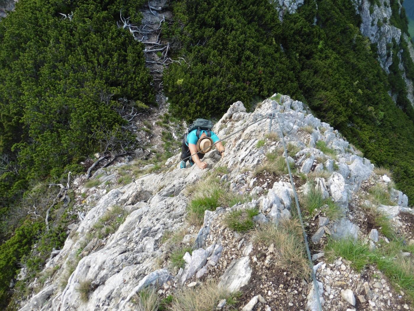Eisenerzer Klettersteig : Grete klinger steig eisenerzer alpen klettersteig gbl