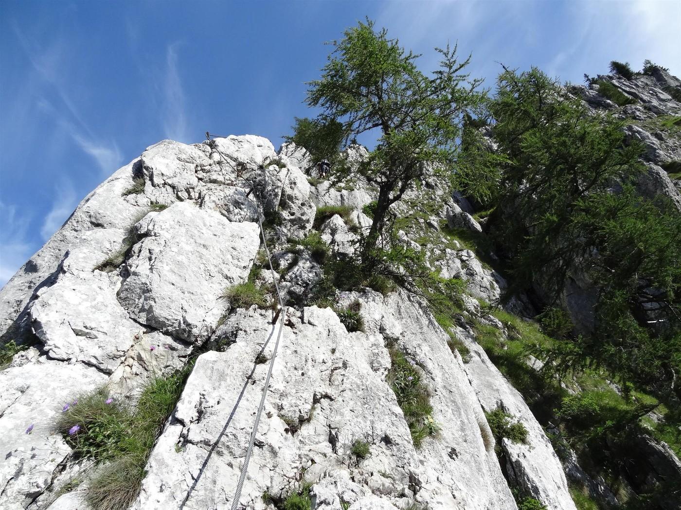 Franz Josef Klettersteig : Kaiser u franz joseph klettersteig north route
