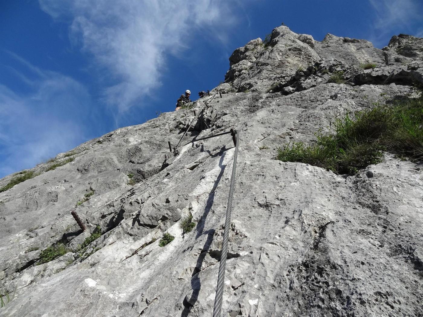 Franz Josef Klettersteig : Klettersteig eisenerz alpenverein