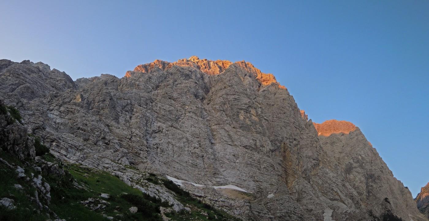 Klettersteig Julische Alpen : Tourenbericht julische alpen u august dav