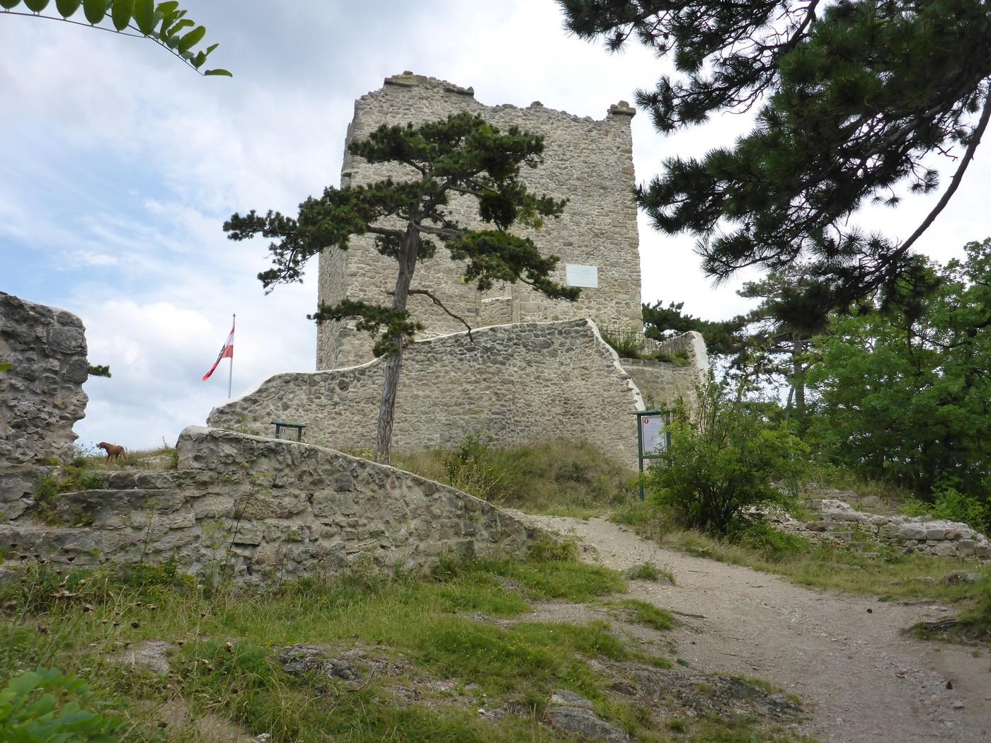 Klettersteig Burg : Neuer klettersteig am fuße der burg heinfels osttirol