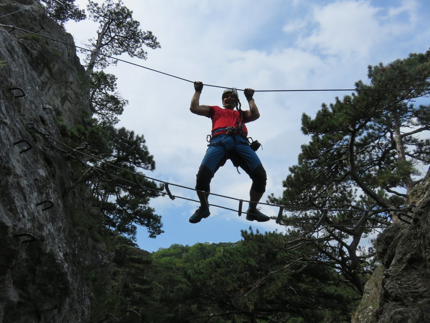 Mödlinger Klettersteig : Mödlinger klettersteig wienerwald gbl