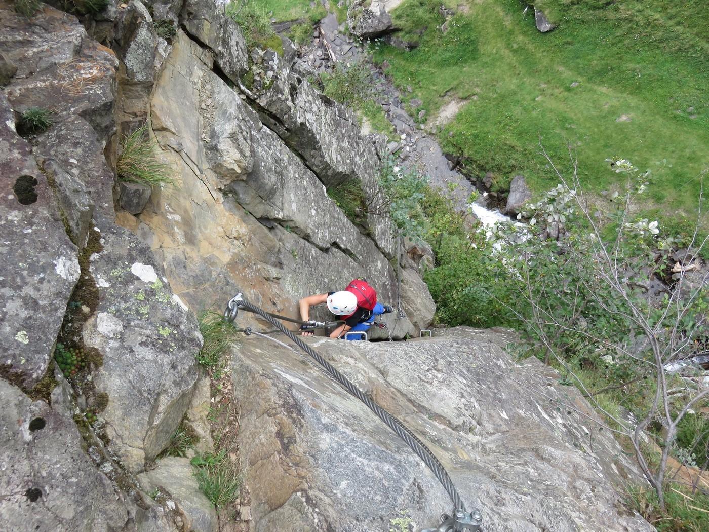 Klettersteig Eitweg : Fallbachklettersteig maltatal klettersteig gbl