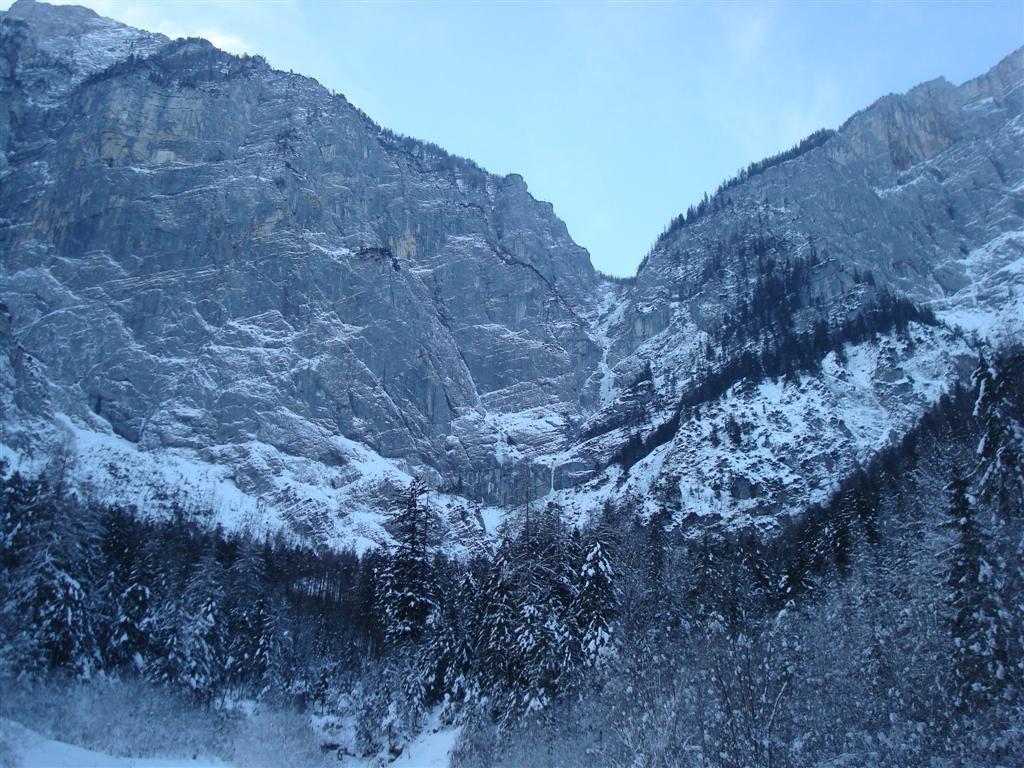 Xeis Klettersteig : Wasserfallweg winterbegehung hochzinödl gesäuse klettersteig