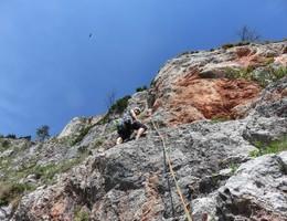 Erdgeisterweg - Rote Wand - Grazer Bergland - Klettern