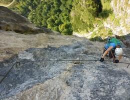 Geiler Hengst - Kampermauer - Totes Gebirge - Klettersteig