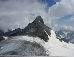 Großes Wiesbachhorn von der Schwarzenberghütte - Glocknergruppe - Hohe Tauern - Hochtour