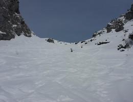Gsuchmauer vom Johnsbachtal - Ebnerklamm - Gesäuse - Skitour