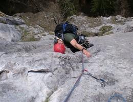Hallo Dienstmann - Breite Wand - Grazer Bergland - Klettern
