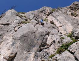Invalidenleiter - Ratengrat - Grazer Bergland - Klettern