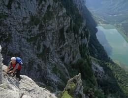 Kaiser Franz Joseph Klettersteig - Hochblaser - Hochschwab - Klettersteig