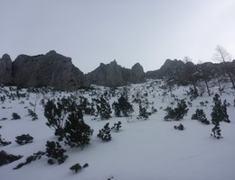Lamingegg vom Präbichl - Hochschwab - Skitour