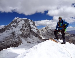 Nordostwand - Ranrapalca - Cordillera Blanca - Hochtour
