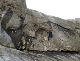 Plattensprint - Planspitze Nordwestwand - Gesäuse - Klettern