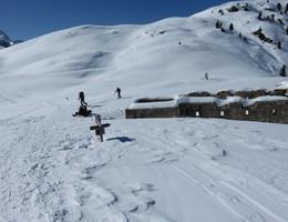 Strudelkopf von der Dürrensteinhütte - Pragser Dolomiten - Skitour