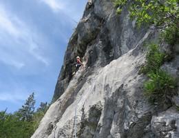 Tigerauge - Breite Wand - Grazer Bergland - Klettern