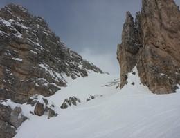 Tofana di Rozes Südkar - Ampezzaner Dolomiten - Skitour