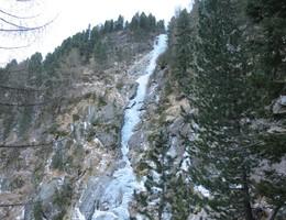 Triestennöckl Eisfall - Reintal - Eisklettern