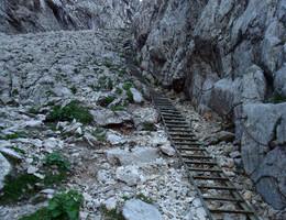 Über das G'hackte auf den Hochschwabgipfel - Hochschwab - Klettersteig