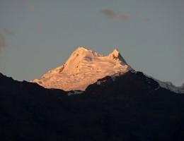 Überschreitung süd nord - Vallunaraju - Cordillera Blanca - Hochtour