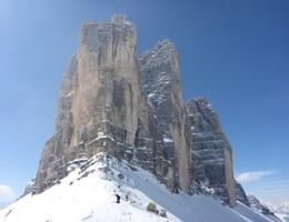 Umrundung der drei Zinnen - Sextner Dolomiten - Skitour