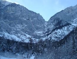 Wasserfallweg Winterbegehung - Hochzinödl - Gesäuse - Klettersteig